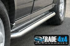 JEEP GRAND CHEROKEE SIDE STEPS RUNNING BOARDS BARS C2 STAINLESS STEEL  2005-2010