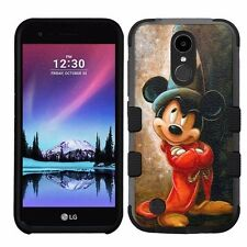 for LG K20 Plus/LG V5 Impact Armor Rugged Hybrid Case Mickey Mouse #FW