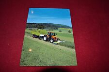 Claas Equipment & Renault Tractor Picture Dealers Brochure GDSD2
