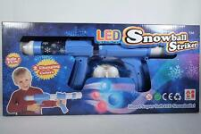 LED Snowball Striker-Pump Action Launch up to 16' LED Soft Indoors New In Pkg.