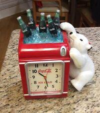 Coca Cola Polar Bear Alarm Clock & Coin Bank
