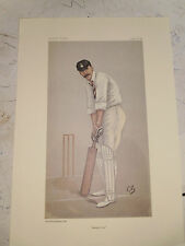 VANITY FAIR PRINT CRICKET HAMPSHIRE CAPTAIN EDWARD WYNARD