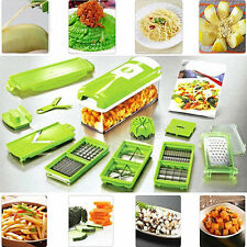 Kitchen Tool Set 12 PCS Slicer Plus Vegetable Fruit Peeler Dicer Cutter Grater