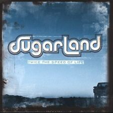 Twice the Speed of Life by Sugarland (2004, Universal S.A.)CD & SLEEVE ONLY