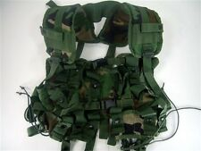 USGI Ammunition Carrying Grenade Vest Woodland Camo Ammo Load Bearing