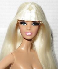 NUDE BARBIE ~ PALE BLONDE BLUE EYE APHRODITE LOOK MODEL MUSE DOLL FOR OOAK