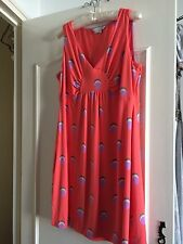 Robe Dress Boden Red UK 16 R, US 12 R