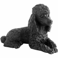 ♛ SANDICAST Dog Figurine Sculpture Poodle Black