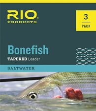 RIO Bonefish Leaders - 3 Pack - Size 10ft - 10lb - New