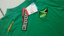 Team Jamaica Mens Official Soccer Jersey Kappa Size XL Green 2013