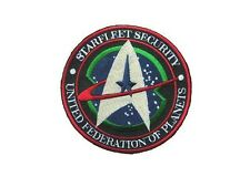 Star Trek Ecusson brodé Starfleet Security United federation of planets patch