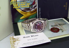 ROLEX - Platinum Day-Date President Tahitian Mother Of Pearl Diamond Dial 118206