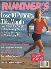VINTAGE RUNNERS - RUNNER'S WORLD MAGAZINE US SPECIAL WOMEN'S EDITION JULY 1997