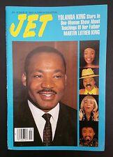 Vintage Jet Magazine Jan 18, 1993 - Martin Luther King - No Label