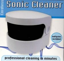 Professional Sonic Cleaner Denture Machine Cleans Dentures No Soaking Dentists