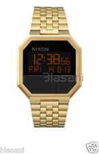 Nixon Original Re-Run A158-502 Gold Stainless Steel 38.5mm Watch