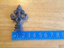 "Cast Iron Spear, Finial, Spire, Ornamental Fence Topper 3/4"" each 631"