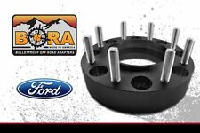 "90-98 Ford F-350 Dually Wheel Spacers 8x6.5 (2) 3."" Thick by BORA Made in USA"