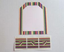 Creative Memories Completion Kit Tag Journaling Box & Studio Sticke Strip NIP