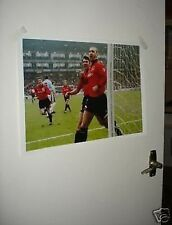 Eric Cantona Roy Keane Celebrating Man Utd Poster