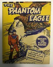 (1943) FAWCETT MIGHTY MIDGET COMICS THE PHANTOM EAGLE #12!