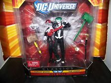 DC Universe Classics MAD LOVE Joker + Harley Quinn 2 Pack Suicide Squad RARE