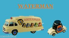 WATERMAN lot 2 véhicules publicitaires FORD CARGO F09W & De ROVIN D2 tour France