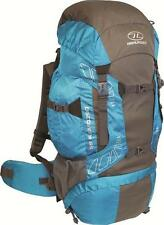 Highlander Discovery Blue/Grey 65 Litre Rucksack, Hiking, D of E,Camping