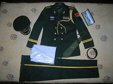 07's China PLA Central Military Commission Senior Colonel Officer Full Dress,Set