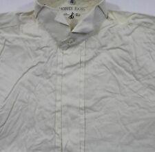 TC5489 Jacques Britt Smoking-Hemd Creme Weiß Punkte Langarm Gr.39 wie Neu