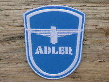ECUSSON PATCH THERMOCOLLANT aufnaher toppa ADLER automobile moto tricycle course