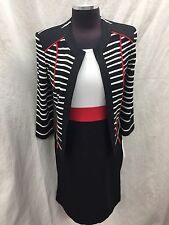 Sandra Darren Dress And Jacket /NEW WITH TAG/RETAIL$159/SIZE 12/NOT LINED/39""