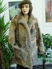 $NEW MONTANA LYNX FUR COAT WOMEN