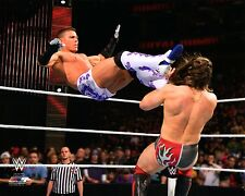 WWE PHOTO TYSON KIDD WRESTLING 8X10 PROMO Natalya Cesaro