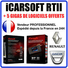 Valise Diagnostic RENAULT & DACIA - iCARSOFT RTII - CAN CLIP - OBD2 AUTOCOM