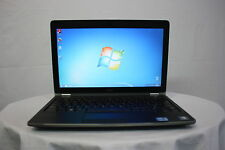"Laptop Barata Dell Latitude E6220 12.5"" Core i5 4GB 320GB Windows 7 Cámara web Oficina"