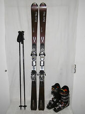 "HEAD ""POWER ONE"" TOP SKI ALLROUND CARVER 156 CM + SALOMON SKISCHUHE GR:41 IM SET"