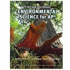ENVIRONMENTAL SCIENCE FOR AP - NEW HARDCOVER BOOK