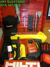 HILTI TE 16-C HAMMER DRILL, PREOWNED, GREAT CONDITION, FREE BITS, FAST SHIP