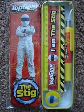 ***NEW*** TOP GEAR TURBO CHALLENGE 'THE STIG' STATIONERY SET IN TIN.