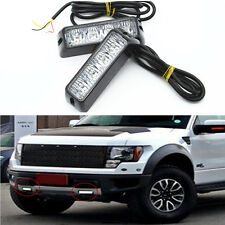 Xenon White LED Warning Emergency Beacon Flash Signal Car Light Bar Waterproof