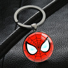 Spiderman Keychains Silver Key Rings Bag Metal Keychain Car Keyring Cheap Gifts