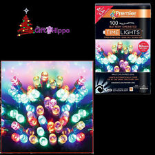 Décorations De Noël - 100  Noël Multicolore lampes LED À Piles