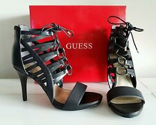 NEW Womens Shoes GUESS HEELS PUMPS, Color: BLACK, Size 9   VERY STYLISH   NWBox