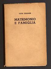 Toth Tihamer - matrimonio e famiglia  - febvnov