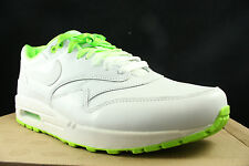 NIKE AIR MAX 1 PRM NRG CLASH PACK WHITE ELECTRIC GREEN 535661 130 SZ 8.5