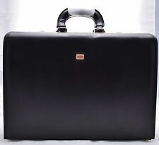 Executive Business Black Laptop Travel Work Flight Pilot Bag Case Briefcase 6925