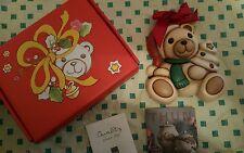 Meravigliosa formella Teddy della Thun  Nuovo con scatolo e cert.  di garanzia