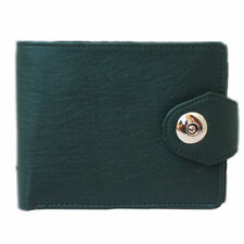 ALW High Quality Faux Leather Stylish Design Wallet with side closing - Green