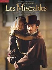 Les Misérables Miserables Mis Movie Learn to Play EASY Piano Beginner Music Book